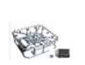 Nozzle untuk air mancur model IF-Y-1000 - 2000