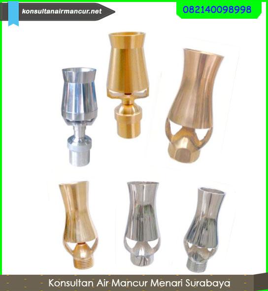 Berbagai macam nozzle air mancur ice tower