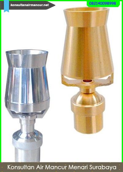 Ice tower nozzle kuningan dan stainless steel