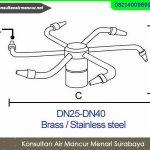 Beli Nozzle air mancur menari model Rotating berputar