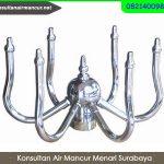 Distributor Nozzle Air Mancur Murah Rotataing fountain