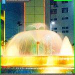 Fountain Nozzle murah Double layer trumpet