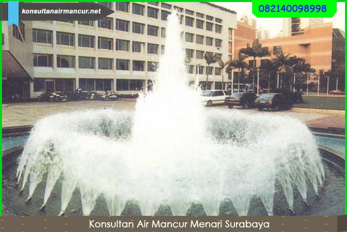 Pengaplikasian Nozzle Kipas Murah untuk air mancur