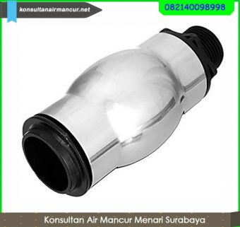 Supplier frothy fountain nozzle stainless steel murah