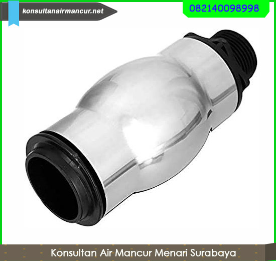 Supplier frothy fountain nozzle stainless murah